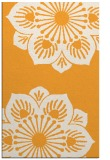 rug #502757 |  light-orange graphic rug