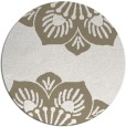 rug #502761 | round beige natural rug