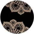 rug #502773 | round beige natural rug