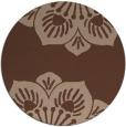 rug #502780 | round graphic rug