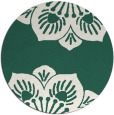 rug #502893 | round blue-green natural rug