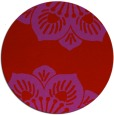 rug #503013 | round red graphic rug