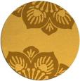 rug #503065 | round light-orange popular rug
