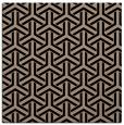 rug #505237 | square beige retro rug