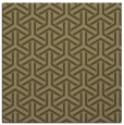 rug #505345   square brown retro rug