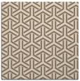 rug #505377 | square mid-brown popular rug