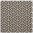 rug #505522   square retro rug