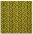 rug #505545 | square light-green popular rug