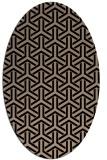 rug #505589   oval beige popular rug