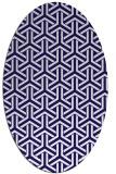 rug #505683   oval retro rug