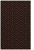 rug #505945 |  black retro rug