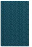 rug #506009 |  blue retro rug