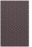 rug #506037 |  blue-violet rug