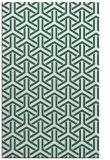 rug #506061 |  green retro rug