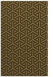 rug #506157 |  green retro rug
