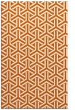 rug #506197 |  red-orange retro rug