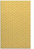 rug #506217 |  yellow geometry rug