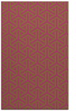 rug #506257 |  light-green retro rug