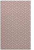 rug #506269    pink retro rug