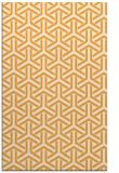 rug #506277 |  light-orange retro rug