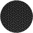 rug #506289   round black retro rug