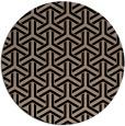 rug #506293   round black popular rug