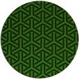 rug #506352 | round retro rug