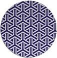 rug #506387 | round retro rug