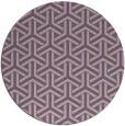 rug #506461 | round purple retro rug