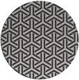 rug #506481 | round orange retro rug