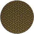 rug #506509 | round purple rug