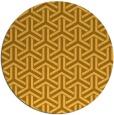 rug #506585   round light-orange retro rug