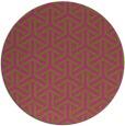 rug #506609 | round retro rug