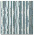 rug #507009 | square blue-green stripes rug
