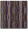 rug #507093 | square blue-violet stripes rug