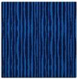 rug #507153 | square blue stripes rug