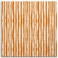 rug #507177   square orange stripes rug