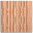 rug #507181   square orange stripes rug