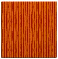 rug #507229 | square orange stripes rug