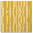 rug #507273 | square yellow stripes rug