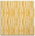 rug #507321 | square light-orange stripes rug