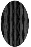 rug #507345   oval black rug