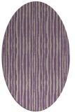 rug #507517 | oval stripes rug