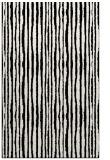 rug #507693 |  black stripes rug