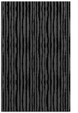 rug #507697 |  black stripes rug