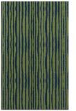 rug #507725 |  blue stripes rug