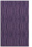 rug #507785 |  purple stripes rug