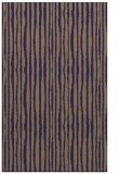 rug #507797 |  blue-violet stripes rug
