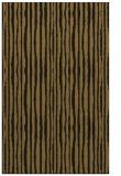 rug #507805    mid-brown stripes rug