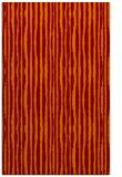 rug #507877 |  red-orange stripes rug